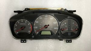 2000 2001 2002 Honda Accord Ex Speedometer Gauge Cluster At 2 3l Coupe No Abs