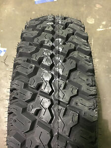 2 New Lt 225 75 16 Lre Cooper Discoverer St All Terrain Tires Free Shipping