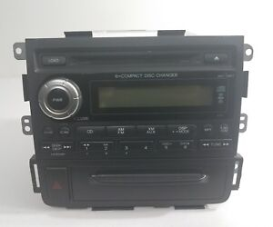 2006 2008 Honda Ridgeline Xm Am Fm Cd Player Radio 39100 sjc a001