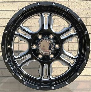 4 New 18 Wheels Rims For Chevrolet Suburban 1500 Tahoe Chevy 665