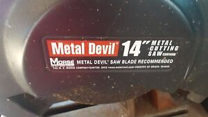 Metal Devil 14 Abrasive Cut Off Saw Csm14mb