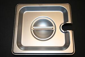 6 Pack 1 6 Size Pan Lid Stainless Steel Steam Hotel Prep Table Food Cover New