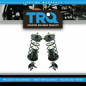 Trq Rear Complete Quick Loaded Strut Spring Assembly Kit Pair For Protege5 New