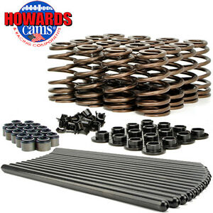 Howard S 98112 Gm Ls Ls1 Beehive Valve Spring Kit Pushrods Good For 640 Lift