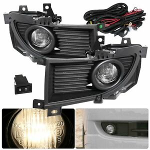 04 06 Mitsubishi Lancer Clear Lens Fog Lights Driving Lamps Replacement Kit