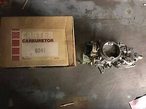 Nos 6041 6041s Carter Carburetor 1969 American Motors 199 232 All Transmission