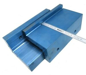 6 Milling Vise Alum Extension Jaws For An Added 3 Per Jaw v106bl ll
