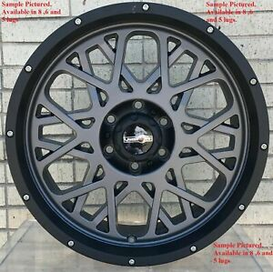 4 New 18 Wheels Rims For Ford F 250 2015 2016 2017 2018 Super Duty 927