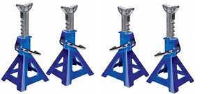 4 Aluminum Racing Jack Stands 3 Ton 6 000 Lb Four Heavy Duty Car Truck Auto