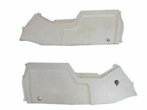 Ford Expedition Center Console Trim Panel Pair Tan 2003 2004 2005 2006