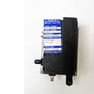 Loral Microwave Narda West Mo 105xe 56 Oscillator Frequency 1000 1200 Mhz