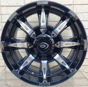 4 New 18 Wheels Rims For Ford F 350 2015 2016 2017 2018 Super Duty 939
