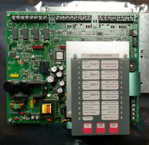 Simplex 4004r Supression Release Fire Alarm Panel