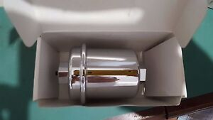 Racing Power S6252 Chrome Fuel Filter 3 8