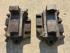 Set Of 2 Bullard Vertical Boring Mill Vtl Face Plate Jaws