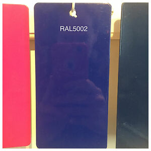 Ral 5002 49 42220 Ultramarine Blue Powder Coating Paint 5lb Bag New