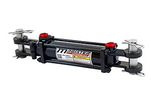 Hydraulic Cylinder Tie Rod Double Action 2 5 Bore 16 Stroke 2500 Psi 2 5x16