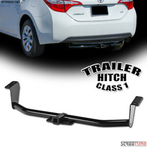 Class 1 I Trailer Hitch Receiver Rear Tube Towing Kit Fits 03 18 Toyota Corolla