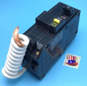 New Circuit Breaker Square D Qo250gfi Gfci 2 Pole 50 Amp 120 240v 10kv Plug In