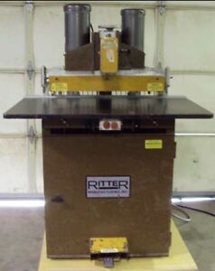 Ritter Boring Machine Used But Great Condition