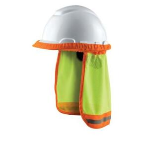 Safety Hard Hat Sun Shade Reflective Neck Ear Shield Protection Workers 8 case