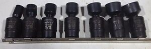 Armstrong Tools 7pc 3 8 Drive Impact Swivel Socket Set 3 8 To 3 4 Size 6pt