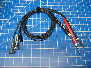 Custom Vtvm Probe Set Assembled For Simpson 303 Vtvm