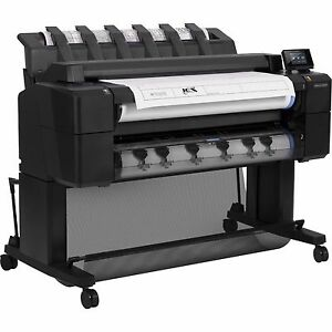 Hp Designjet T2500ps Emfp Color Wide large Format Plotter printer scanner New