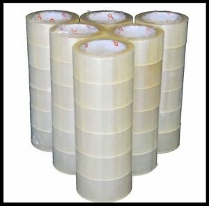 36 Rolls Carton Sealing Clear Packing 2 Mil Shipping Box Tape 2 X 110 Yards New