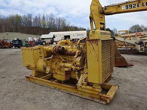 Caterpillar Sr4 275 Kw Generator Genset 3406 Cat Diesel Engine 3406a