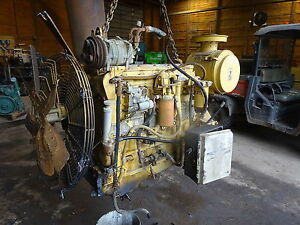Caterpillar 3116 Industrial Diesel Engine Takeout 6 6 L Cat Excavator