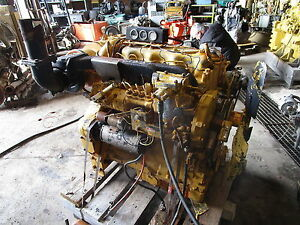 Caterpillar D330 Turbo Diesel Engine Runs Exc Rare D 330 944 955 D4d
