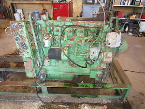 John Deere 404 Diesel Engine Runs Exc Complete Video 6404 Tractor 4230 4040