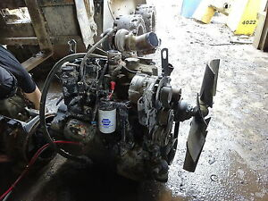 John Deere 4045hf285 Diesel Engine Complete Runner 4045 Turbo Compressor Backhoe