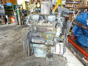 Perkins 3 152 Diesel Engine Runs Exc D3 152 Massey Tractor Dozer152