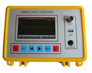 Tdr Cable Fault Locator 8km Meter Intelligent Electric Bridge