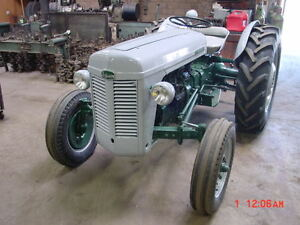 Ferguson To35 Tractor 1955 Model Restored Rebuilt Massey To 35 New Tires