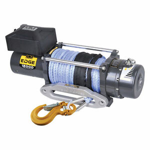Mean Mother Mm Ew12000s Edge 12000 Lbs Electric Winch 3 8 X 100 Synthetic Rope