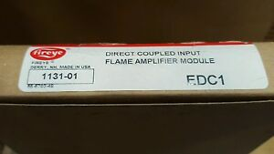Fireye Edc1 Direct Complied Input Flame Module New In Factory Box