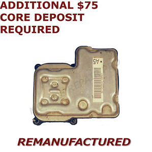 Reman 2000 2005 Gmc Sierra 1500 Abs Pump Control Module Ebcm exchange