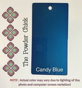 Candy Blue 49 43600 Powder Coating Paint 5lb Bag New