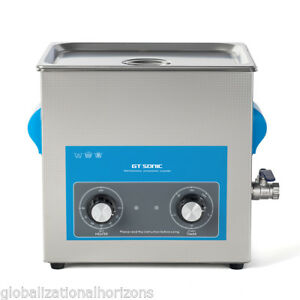 Commercial Ultrasonic Cleaner 9l Liter Stainless Steel Sonic Bath Clearning Tank