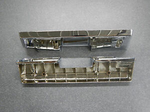 1965 1966 Buick Riviera Arm Rest Base Pair Chrome Front Standard Interior 65 66
