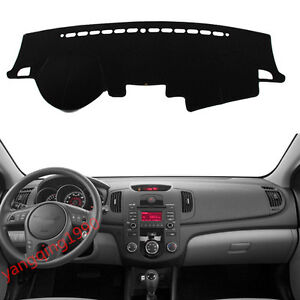 For Kia Forte Cerato 2009 2014 Dashboard Dash Mat Dashmat Sun Cover Pad