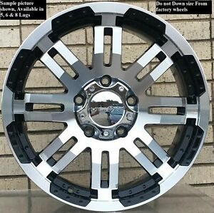 4 New 15 Wheels Rims For 1985 2001 Astro Van 1988 1998 C 1500 2wd 5 Lugs 2701