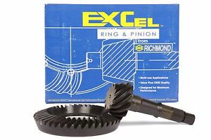 Chevy Gm 7 5 7 6 Rearend 3 73 Thick Ring And Pinion Richmond Excel Gear Set