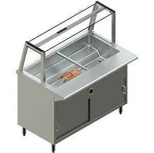 New Restaurant Stainless Steel Electric Steam Table Model Pbts 5e