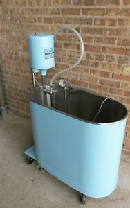 Whitehall E 45 m Hydrotherapy Extremities 45 Gallon Whirlpool Tub Tank Stainless