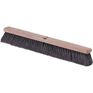 Cfs 4505403 Commercial grade Flo pac 24 Black Fine Floor Push Broom 12 cs