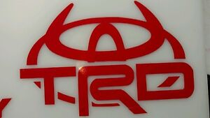 Toyota Evil Trd Decal X2 Toyota Racing